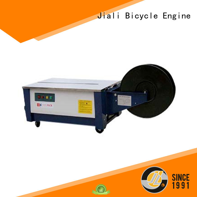 Jiali low fully automatic strapping machine manufacturer for print packing