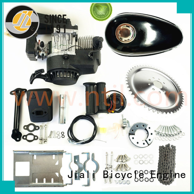 Jiali table 2 stroke bicycle engine kits factory for electric bicycle